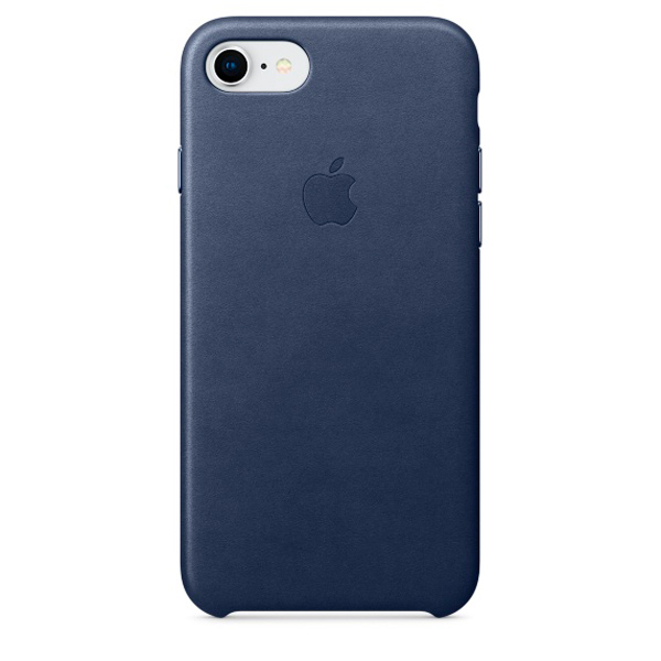 Чехол IPhone 8/7 Leather Case MQH82ZM/A Midnight Blue