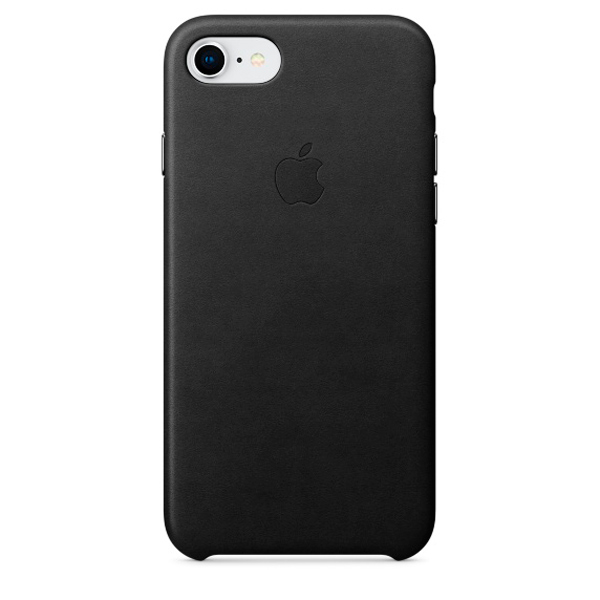 Чехол IPhone 8/7 Leather Case MQH92ZM/A Black