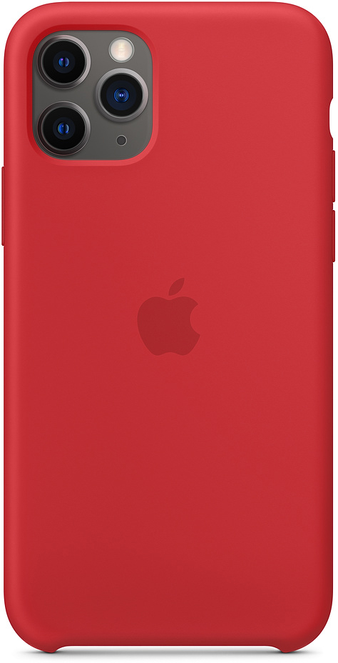 Чехол IPhone 11 Pro Silicon Case MWYH2ZM/A Red