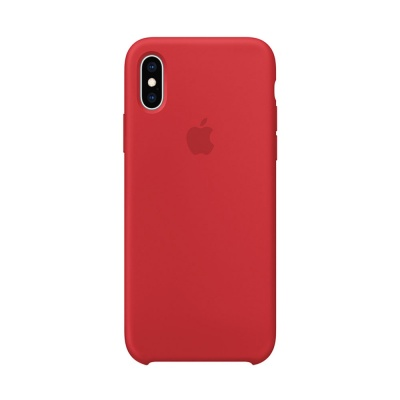 Чехол IPhone XS Max Silicon Case MRWH2ZM/A Red