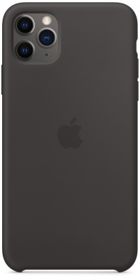Чехол IPhone 11 Pro Max Silicon Case MX002ZM/A Black